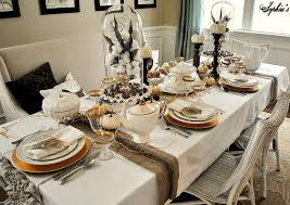 rustic glam thanksgiving table setting thanksgiving table