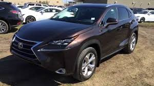 lexus suv 2016 nx new brown 2015 lexus nx 300h hybrid awd standard equipment