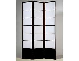 asia direct 5419 3 panel room divider screen with solid wood frame