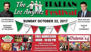 the los angeles italian festival los angeles ca festivals com