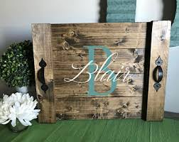 personalized trays custom serving tray etsy