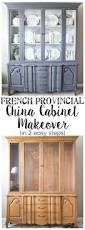 Painted Furniture Ideas Before And After Best 25 China Cabinet Makeovers Ideas Only On Pinterest Painted
