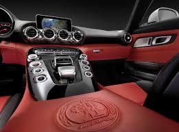 mercedes interior 2016 mercedes amg gt lacks name has neat interior