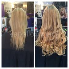 kapello hair extensions kapello pre taped extensions at macs glasgow hair beauty