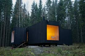 The New Small House In A Finnish Forest A House Blends In Slide Show Nytimes Com