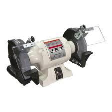 jet 1 2 hp 6 in industrial metalworking bench grinder 115 volt