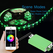 rgb led light strips mini smart remote app controller for rgb led light strip wireless