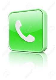 phone icon green phone icon button 3d image stock photo picture and royalty