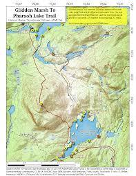 Tos Map Pharaoh Lake Wilderness U2013 Andy Arthur Org