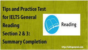 free tips and practice test for ielts general reading section 2 u0026 3