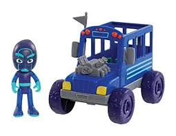 pj masks vehicle u0026 figure u2013 night ninja bus antagongame