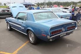 68 mustang california special i really the shelby components on the 68 gt cs especially