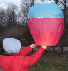 How To Make Paper Air Balloon Lantern - how to make sky lanterns