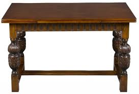 Oak Bistro Table Antique Oak Draw Leaf Pub Table