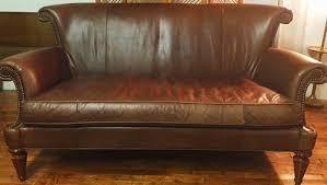 patina leather sofa u2014 cedar u0026 cotton