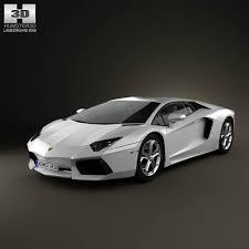 car models lamborghini lamborghini aventador 2012 3d model hum3d