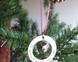 personalized ornaments etsy uk