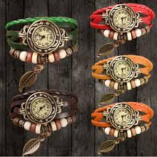 vintage leather bracelet watches images All categories fashion women new design retro leather jpg