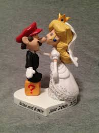 mario cake topper mario wedding cake topper idea in 2017 wedding