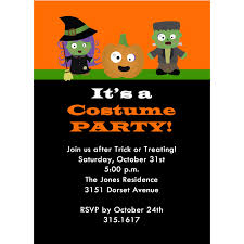 Halloween Birthday Card Ideas by Halloween Costume Party Invitations U2013 Gangcraft Net
