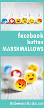 Facebook Icon by Facebook Like Button Marshmallows The Decorated Cookie