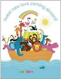 noah ark baby shower noah s ark baby shower invitations pkg of 8