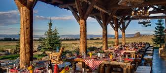 The Great Barn At Stone Mountain Wy Dude Ranch Luxury Dude Ranches Brush Creek Ranch