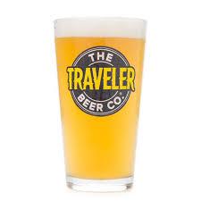 traveler beer images The traveler beer co pint glass beer dabbler store jpg