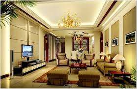interior luxury master bedroom with glowing deep tray ceiling