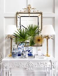 Vignette Home Decor Dated Tuscan Home Transforms With Blue And White Decor Room