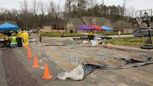 Backyard Oil Mayflower Ark Battles Exxon U0027s Backyard Oil Spill Abc News
