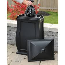83 Gallon Deck Box by Mayne Mansfield Outdoor Storage Bin In Black Made In The Usa Www