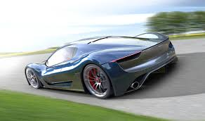 navy blue maserati this stunning maserati concept is built off the laferrari chassis