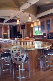 round kitchen island design pictures remodel decor and ideas