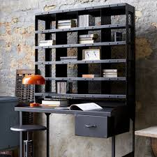 bureau tri postal bureau metal industriel fabulous desk in metal and black