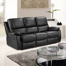 Leather Recliner Sofa 3 2 Lovely Black Leather Reclining 2 Cameo 3 Seater Recliner