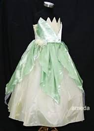 deluxe princess tiana frog party dress costume halloween fancy