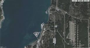 Maps Google Com Seattle by Eyeballing The Naval Submarine Base Bangor And Nuclear Weapons