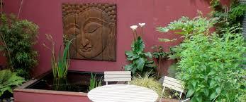 a buddhist or garden