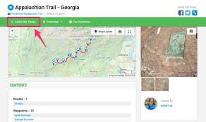 New York Appalachian Trail Map by Maps And Tracks For The Entire Appalachian Trail Gaia Gps