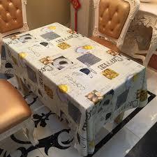 nappe cuisine plastique étanche oilproof tischdecke pvc nappe cuisine salle à manger