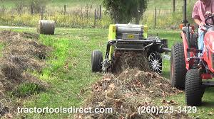 tractor tools direct caeb mini round baler demonstration youtube