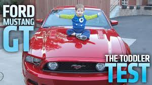 toddler mustang car 2013 ford mustang gt will it baby