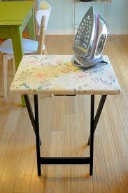 Folding Tv Tray Table 5 Different Fun Ways To Use Tv Trays Tv Trays Iron Board And Trays