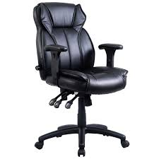 Leather Office Chair 40 Lbs Ergonomic Pu Leather Office Chair Office Chairs Office