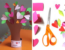 Easy Paper Craft For Kids - 75 easy valentine u0027s day crafts for kids personal creations blog