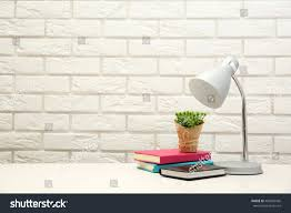 floor and home decor lamp home decor on brick wall stock photo 406946566 shutterstock