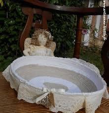 corbeille mariage corbeille blanche quete mariage copie artisanne textile
