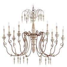 Country Chandelier French Country Style Destination Lighting