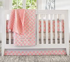 Pottery Barn Kids Baby Bedding Soho Baby Bedding Set Pink Pottery Barn Kids